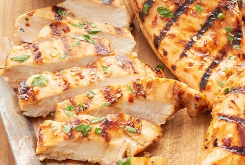 Grill Chicken Breast Halves