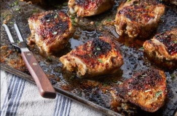 Chicken Thighs with Cumin and Rosemary
