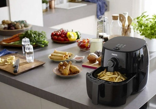 You don't give your air fryer room to vent