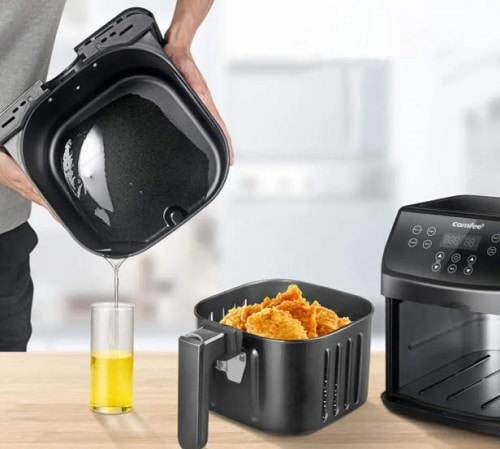 You use too much oil in your air fryer