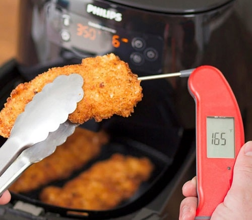 You're not using a thermometer with your air fryer