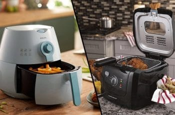 Are the features of an air fryer the same as a fryer