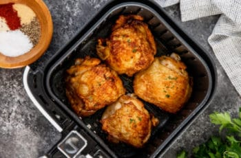 How Long To Cook Chicken Thighs In Air Fryer