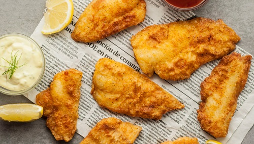 How long to fry fish in deep fryer